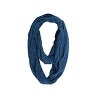 Indigo Knit Circle Scarf