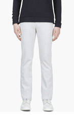 NAKED AND FAMOUS DENIM Off-White Selvedge Skinny Jean for men