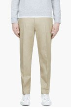 ACNE STUDIOS BEIGE Sam Dot TROUSERS for men