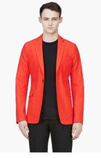 ACNE STUDIOS Blood Orange Cotton Noel Blazer for men