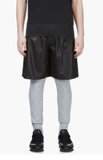 SACAI Heather Grey Slim Lounge Pants for men