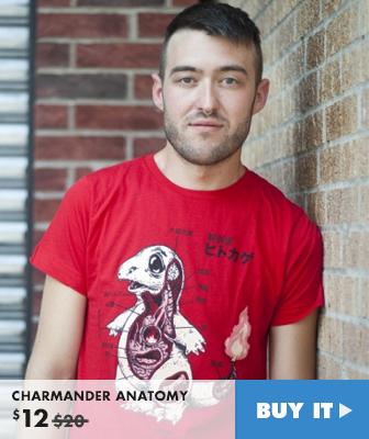 CHARMANDER ANATOMY