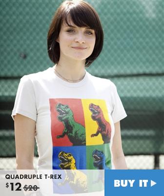 QUADRUPLE T-REX