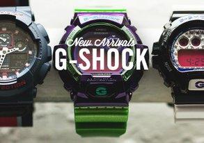 Shop New Arrivals: Neon G-Shock & More