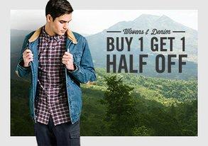 Shop Wovens & Denim ALL Under $60