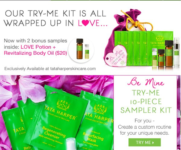 Introducing Be Mine: Valentine's Try Me Kit! Shop Now