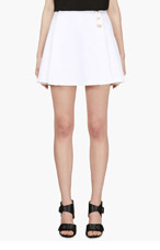 VERSUS White JW Anderson Edition Tennis skirt for women
