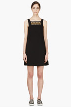 VERSUS Black A-line Gamine Dress for women
