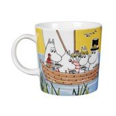 Moomin Mug Sail With Niblings and Too-Ticky