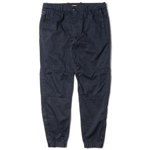 Stone Island Cotton Satin Chino Pants with Zip