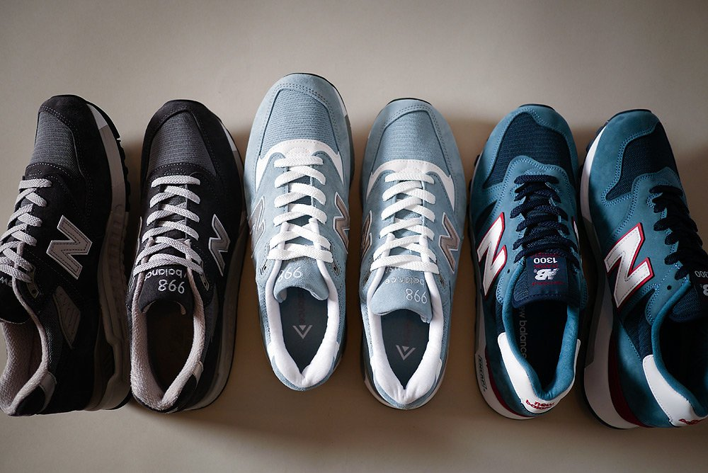 """New Balance """"Made In America"""" S/S14 Releases"""