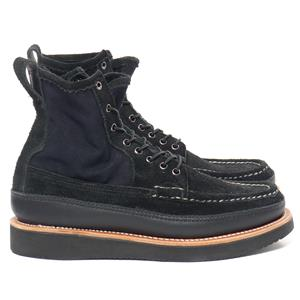 Russell Moccasin Co. For HAVEN Elk Leather PH II Boot Black