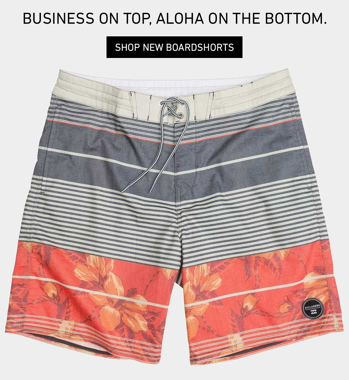 Contains Aloha Additive: New Boardshorts