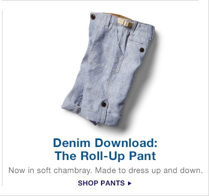 Denim Download: The Roll-Up Pant | SHOP PANTS