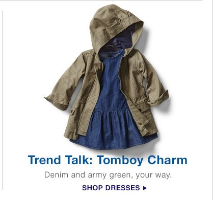 Trend Talk: Tomboy Charm | SHOP DRESSES