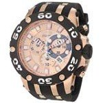 Invicta 0919 Men's Reserve Specialty Subaqua Rose Gold Dial Chronograph Rubber Strap Dive Watch