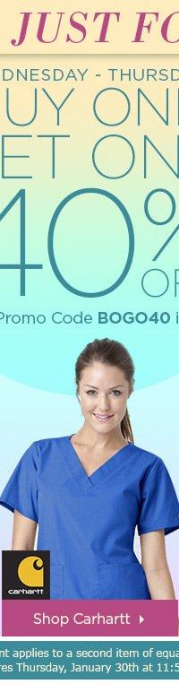 Buy one get one 40% OFF - Shop Carhartt