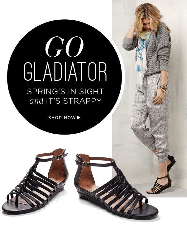 Go Gladiator: Shop Leighla