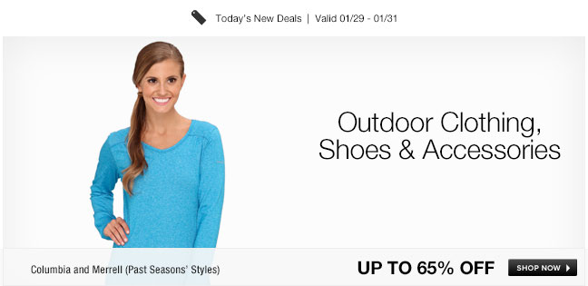 Outdoor Clothing, Shoes and Accessories