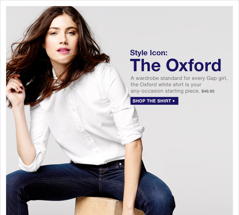 Style Icon: The Oxford | SHOP THE SHIRT