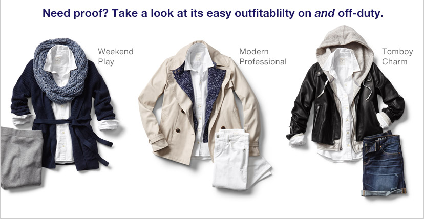 Need proof? Take a look at its easy outfitability on and off-duty.