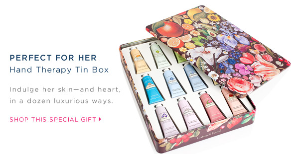 Perfect for her. Hand Therapy Tin Box. Shop this special gift.