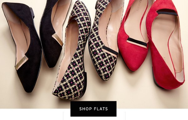 One pair is never enough. Shop Flats