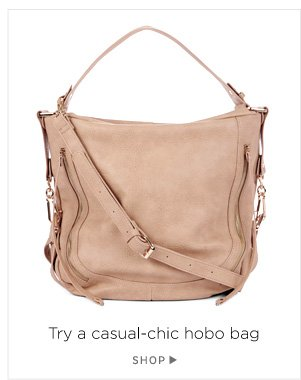 Try a casual-chic hobo bag. Shop Amerie