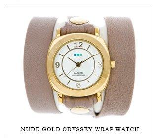 Nude Gold Odyssey Wrap Watch