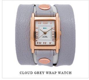 Cloud Grey Wrap Watch