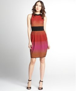 Back Out Sleeveless Knit Dress
