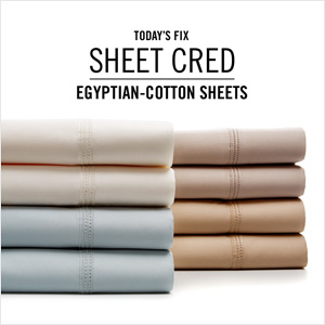 Egyptian-Cotton Sheets