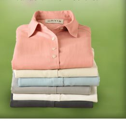 Discover the versatile elegance of our washable silk shirts. Available in six colors.