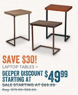 Laptop Tables: Deeper Discount - $49.99ea