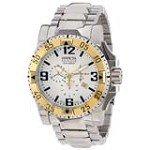 Invicta 14039 Men's Excursion Reserve Silver Dial Chronograph Dive Watch