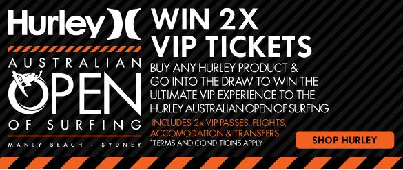Win2x VIP Tickets To Hurley Pro - Shop Now