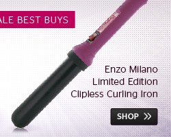 Enzo Milano Clipless Curling Iron