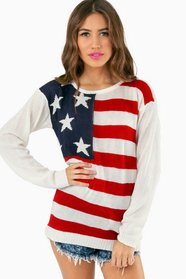 America For Me Knit Sweater 35