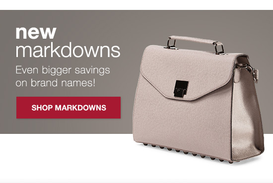 shop markdowns