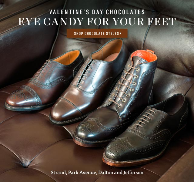 Valentine's Day Chocolates: Eye Candy For Your Feet. Shop now >