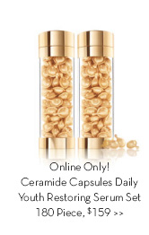 Online Only! Ceramide Capsules Daily Youth Restoring Serum Set 180 Piece, $159.