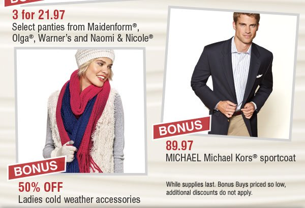 One Day Sale with Preview Day - STARTS TOMORROW! Over 120 Bonus Buys + Save up to 60% storewide! Find a store.