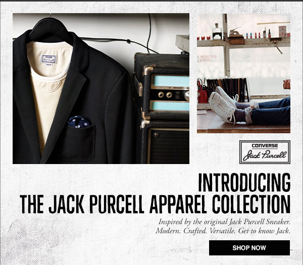 Introducing Jack Purcell Apparel Collection
