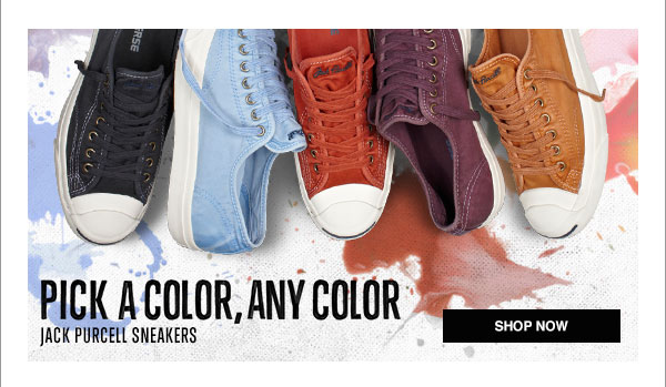 Pick A Color, Any Color - Jack Purcell Sneakers