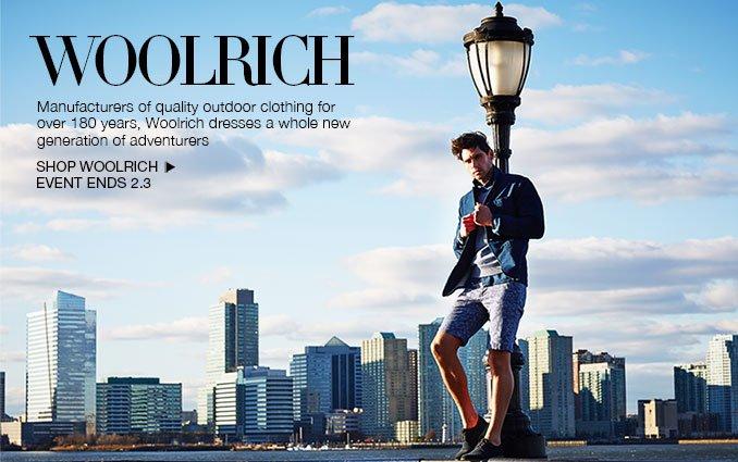 Shop Woolrich.