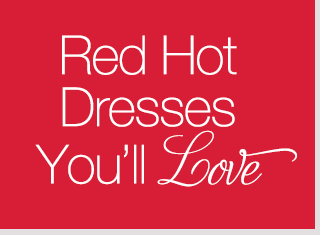 Red Hot Dresses You'll Love