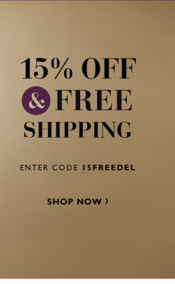 15% off and Free Shipping on Top Rated Products