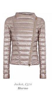 Jacket, £370 Herno