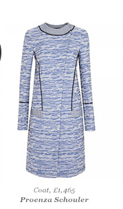Coat, £1,465 Proenza Schouler