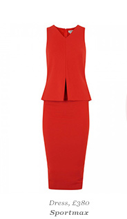 Dress, £380 Sportmax